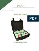 Manual de P200