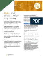 Tool - Single Double Triple Loop Learning