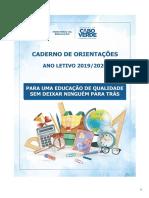 Caderno de Orientacoes Ano Letivo 2019-20