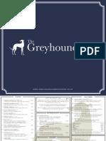 Greyhound Menu
