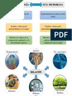 Ecologia Microbiana y su relación con otras ciencias