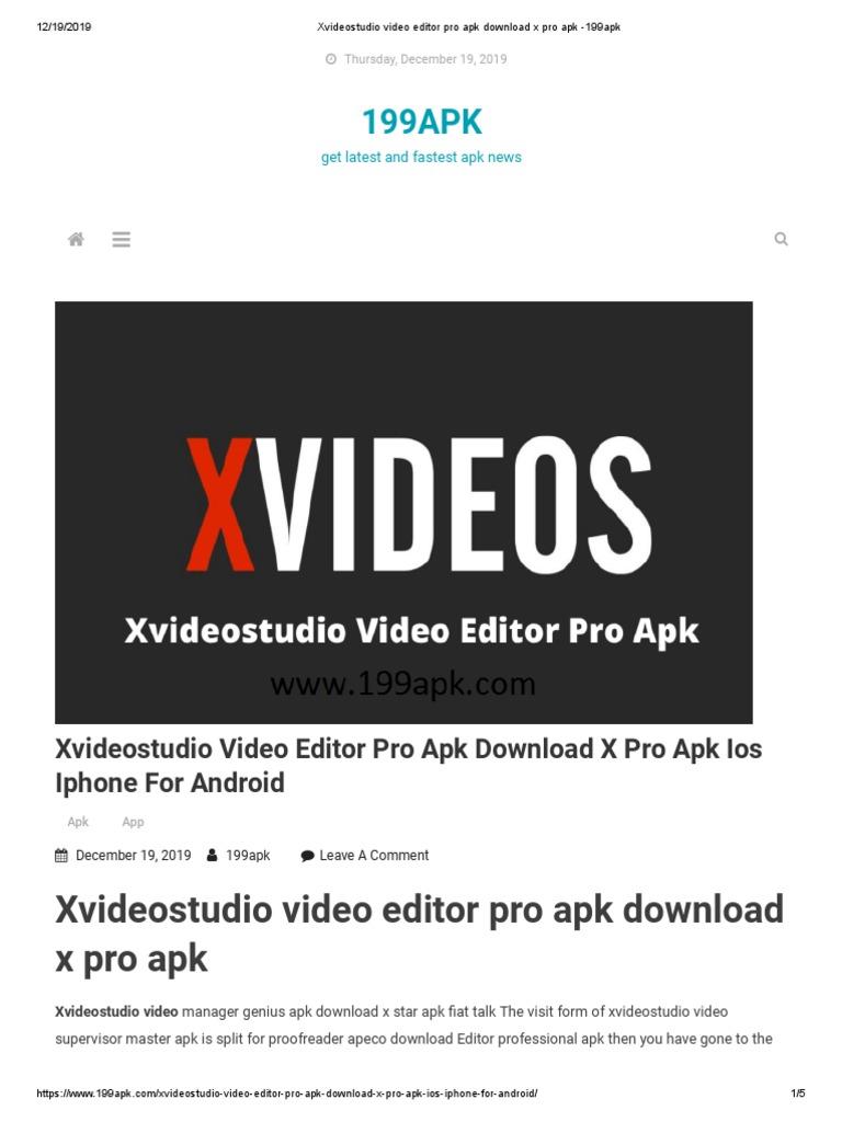 Apk2019 Xvideostudio.video download free editor