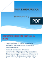 PRESENTACION DE HIDROLOGIA he HIDRAULICA