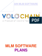 MLM Software PLans | Volochain MLM Software