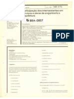 NBR 578 - Participação Dos Intervenientes Em Serviços e Obras de Engenharia e Arquitetura