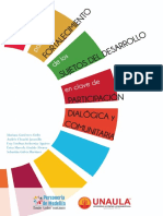 Guía para el fortalecimiento de los sujetos del desarrollo en clave de participación dialógica y comunitaria
