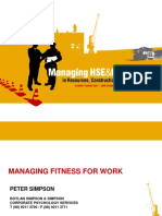 1.50pm (H) Fitness For Work - Fatigue Management - Incorpora