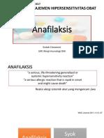 Anafilaksis Workshop PKB IDAI Sumut Feb 2017