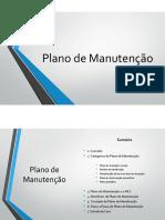 plano de manutenção - IPC