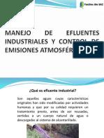 Material de Capacitación Sobre Manejo de Efluentes y Control de Emisones 2019