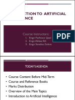 Chapter 1 Inrtoduction to AI