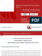 Bariatric Surgery Devices Market Research Report – Forecast to 2023