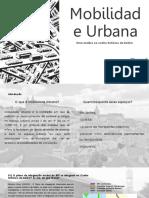 Mobilidade Urbana (1)