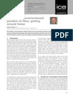Environmental Paradox Dubai
