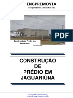 Construção de Prédio Em Jaguariúna