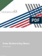 Gerrymandering and Redistricting