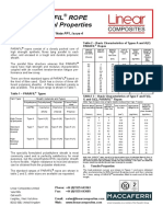 Parafil Physical Properties 2008 issue4