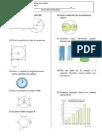 Prova Matematica 8