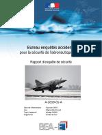 Le rapport du BEA sur le crash du Mirage 2000D de Nancy-Ochey