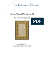 Life and Art of Mir Sayyid Ali