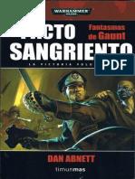 Fantasmas de Gaunt (12) - Pacto Sangrien - Dan Abnett