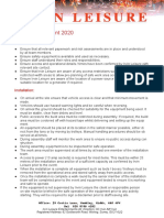 Method Statement 2020