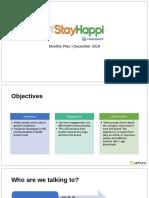 StayHappi Social Plan December