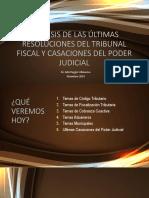 EDU - ULTIMAS RTF Y CASACIONES - 021219