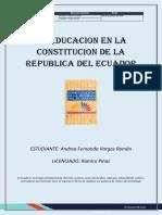 Sociedad Contemporánea y Políticas Educativas
