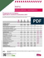 Grève SNCF en Alsace le 20 décembre 2019