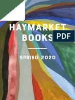 Haymarket Books Spring 2020 Catalog