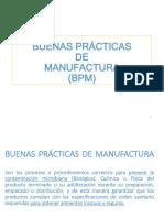 Charla Buenas Practicas de Manufactura