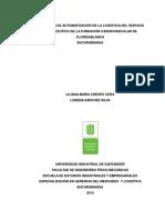 Diseño de un plan de automatización de la dispensación de medicamentos