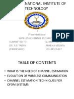 OFDM modulation and Demodulation
