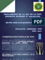 EXPOSICIÓN D.S. 026-2017 REGLAMENTO DE LA LEY DE LA PNP.pptx