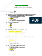 Banco de Preguntas para Oftalmologia