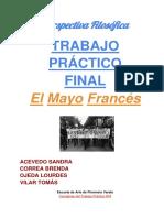 TP Filosofia el mayo frances