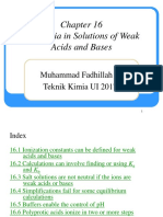 ch16. Equilibria in Solutions of Weak Acids and Bases.ppt