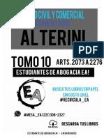 CCCyC - ALTERINI - TOMO 10