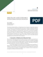 Didáctica de La Educación Física Nuevos Temas, Nuevos Contextos. Didacticae