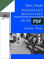 Dissonant Identities