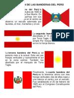 Evolución de Las Banderas Del Perú