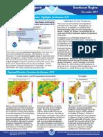 Southeast Region Quarterly Report Autumn 2019