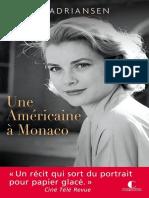 Une Americaine a Monaco - Sophie Adriansen