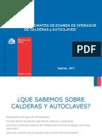 operador autoclaves MINSAL