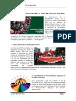 Lista de Movimientos y Organizaciones Sociales Del Ecuador