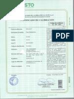 Certificado Pinza Multimetrica ACTUALIZADO 2019