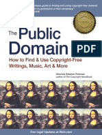 The Public Domain--How to Find & Use Copyright-Free Writings, Music, Art