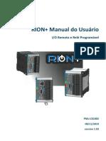 pmuc0100200 - Manual Rion+ Hi Tecnologica
