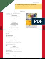 Colloque International Les formes plurielles de la généricité littéraire II